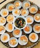 Nét đẹp văn hóa ẩm thực