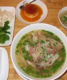 Văn hóa ẩm thực Hà Nội xưa và nay