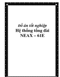 HỆ THỐNG TỔNG ĐÀI NEAX - 61E