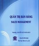 Thuyết trình Quản trị bán hàng - Nguyễn Xuân Đăng Huy