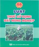 Luật Thuế sử dụng đất nông nghiệp