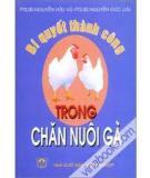 Ebook Bí quyết thành công trong chăn nuôi gà - PTS. BS Nguyễn Hữu Vũ & PTS. BS Nguyễn Đức Lưu