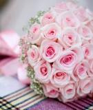 Tự làm hoa cưới