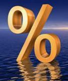 Tín dụng và lãi suất tín dụng