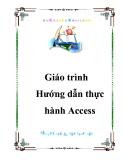 Hướng dẫn thực hành Access - GV. Mai Liên Khương