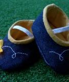 Làm giày đom đóm cho bé