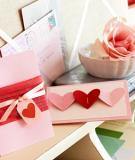 Những ý tưởng mới cho thiệp Valentine