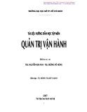 Quản trị vận hành - Th.S. Nguyễn Kim Anh & Th.S. Đường Võ Hùng