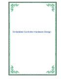 Embedded Controller Hardware Design - Chapter 1