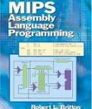 MIPS Assembly Language Programming 2003 Prentice-Hall