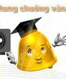 Đề thi Vòng 2 Rung chuông vàng