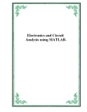 Electronics and Circuit Analysis using MATLAB.