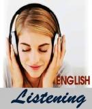Kỹ năng nghe các từ Tiếng Anh