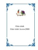 Giáo trình Access2000