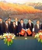 Quan hệ hợp tác Việt Trung
