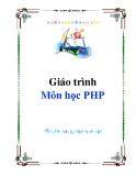 Giáo trình Môn học PHP
