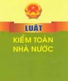 Luật Kiểm toán nhà nước số 37/2005/QH11