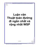 Luận văn: Thuật toán đường đi ngắn nhất và rộng nhất WSP - Vũ Công Sự