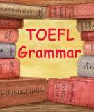 Sách học TOEFL GRAMMAR