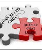 Giáo trình Quản trị chất lượng_ Chương 6