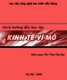 Sách hướng dẫn học tập môn Kinh tế vĩ mô