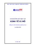 Tài liệu hướng dẫn học tập môn Kinh tế vi mô - ThS Trần Thị Hòa