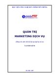 Giáo trình: Quản trị marketing dịch vụ