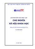 Ebook Sách hướng dẫn học tập Chủ nghĩa xã hội khoa học