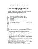 Mẫu hợp đồng vận chuyển hàng hoá - Mẫu số 3