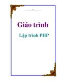 Giáo trình: Lập trình PHP