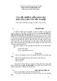 Tài liệu hướng dẫn sinh viên khi làm luận văn tốt nghiệp - Quách Tuấn Ngọc