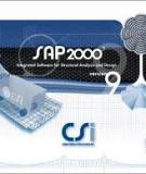 Chức năng nhập và xuất file trong sap 2000
