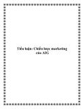 TIểu luận: Chiến lược marketing của AIG
