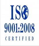 Hệ thống quản lý chất lượng ISO 9001:2008
