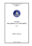 Tài liệu thí nghiệm vật lý phổ thông ( Tập 1)