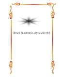 Hoạch định chiến lược marketing