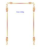 Sách Essay writing
