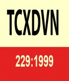 Tiêu chuẩn xây dựng TCXD 229:1999