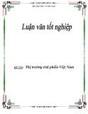 """Luận văn """"Thị trường trái phiếu Việt Nam"""""""