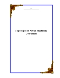 Topologies of Power Electronic Converters
