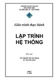 Giáo trình thực hành  Lập trình hệ thống - Nguyễn Hứa Duy Khang vs Trần Hữu Danh