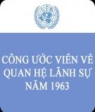 Công ước viên năm 1963