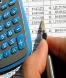 Bài giảng Phân tích tài chính (Nguyễn Minh Kiều): Bài giảng 5