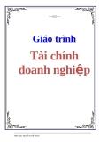 Giáo trình Tài chính doanh nghiệp - Nguyễn Tuyết Khanh