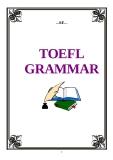 Tài liệu TOEFL GRAMMAR