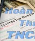 Thủ tục Đăng ký thuế đối với trường hợp tổ chức
