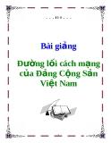 Sách Đường lối CM của Đảng Cộng Sản Việt Nam