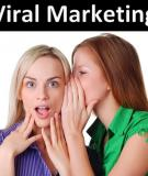 Viral Marketing (Marketing lan truyền)