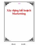 Xây dựng kế hoạch Marketting trong kinh doanh hiệu quả
