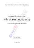 Sách hướng dẫn học tập Vật lý đại cương (A1)